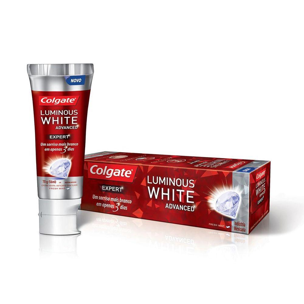 colgate luminous white advanced