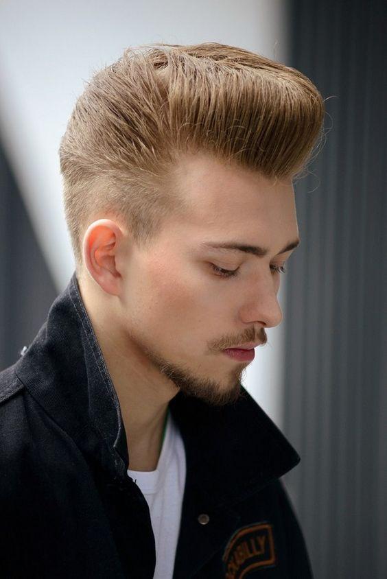 corte de cabelo pompadour