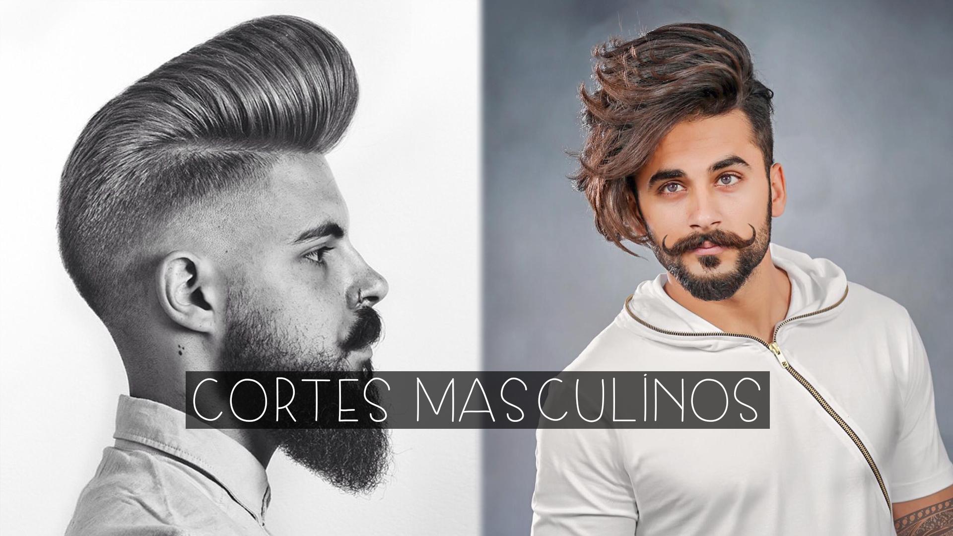 cortes de cabelo masculino