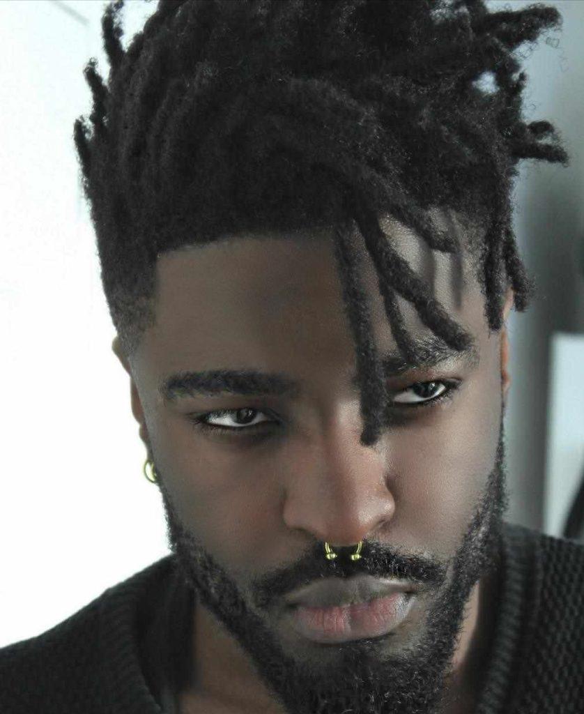 corte masculino afro