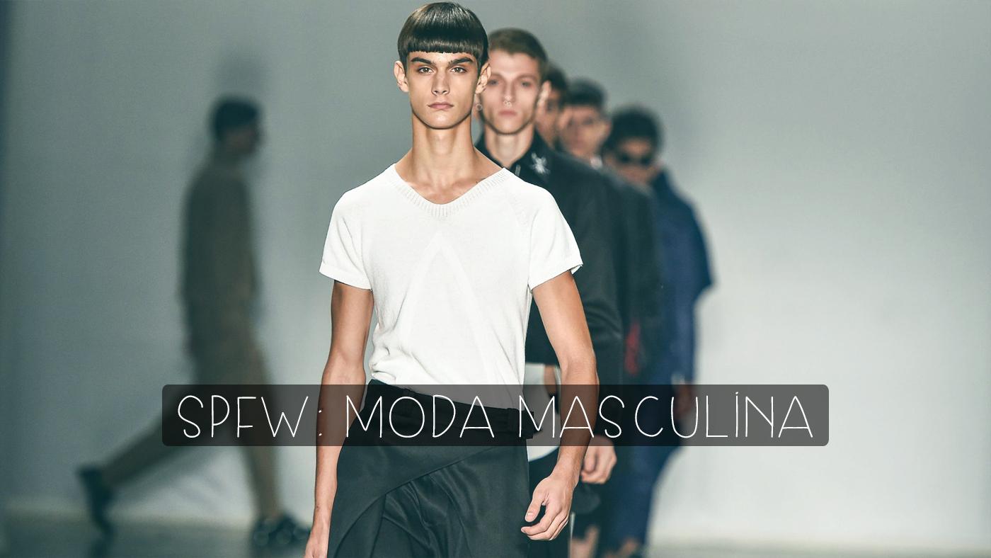 fce0dc1a7 Moda masculina: Veja o que rolou na SPFW - Marco da Moda