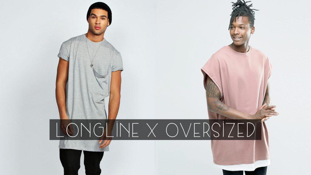 Diferença entre longline e oversized