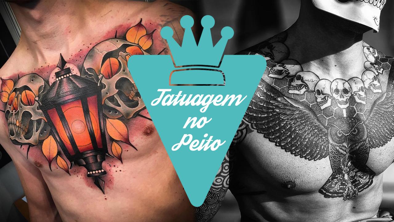 Tatuagem no peito para homens