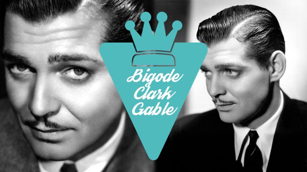 Bigode estilo Clark Gable