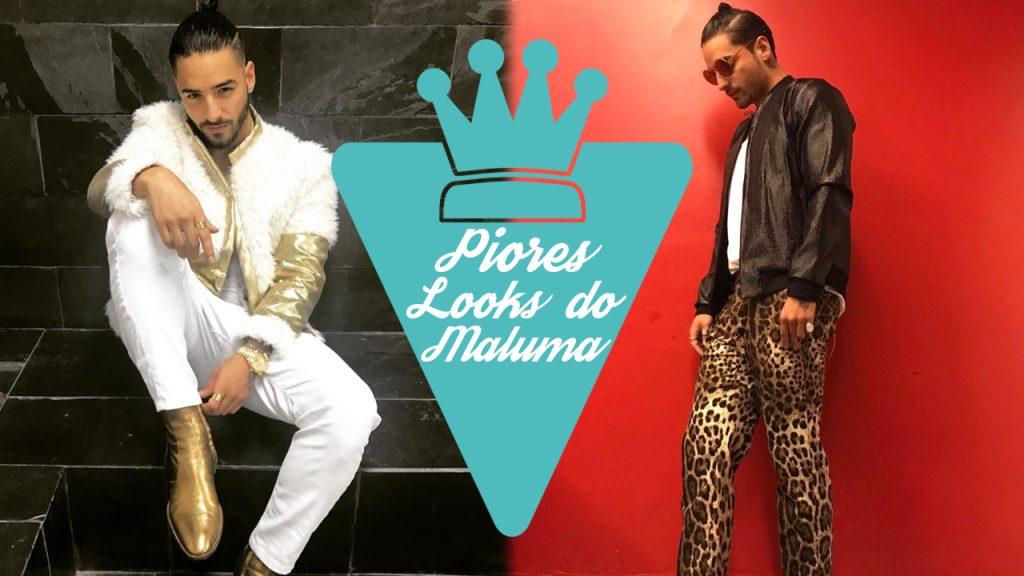10 piores looks do Maluma