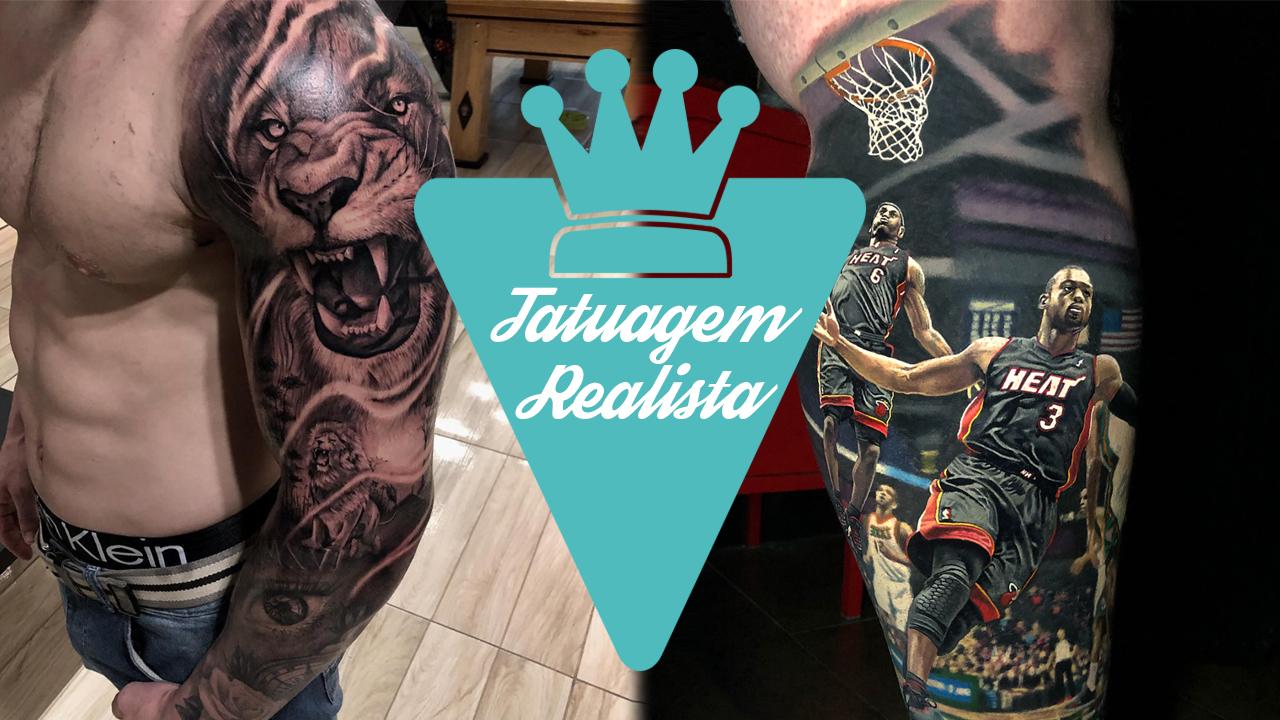 Tatuagem realista ou realismo
