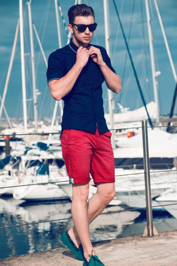 Look masculino para usar na praia