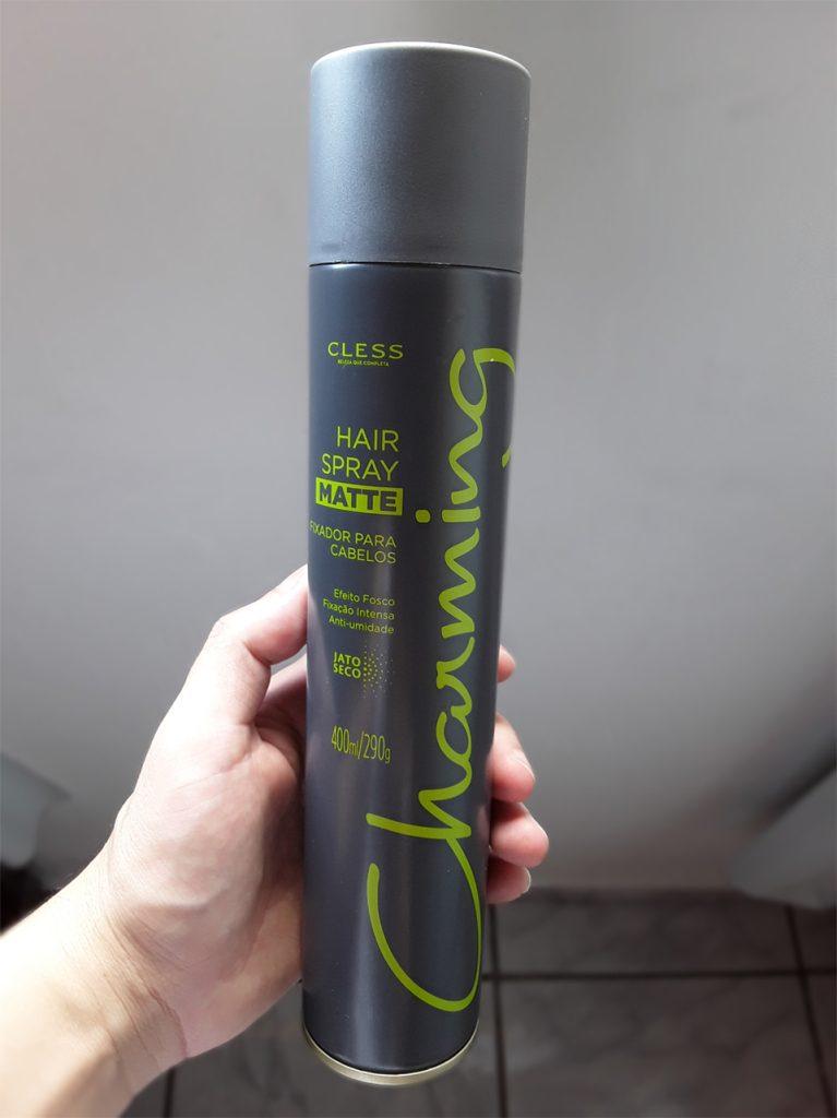 Spray fixador da cless para penteados