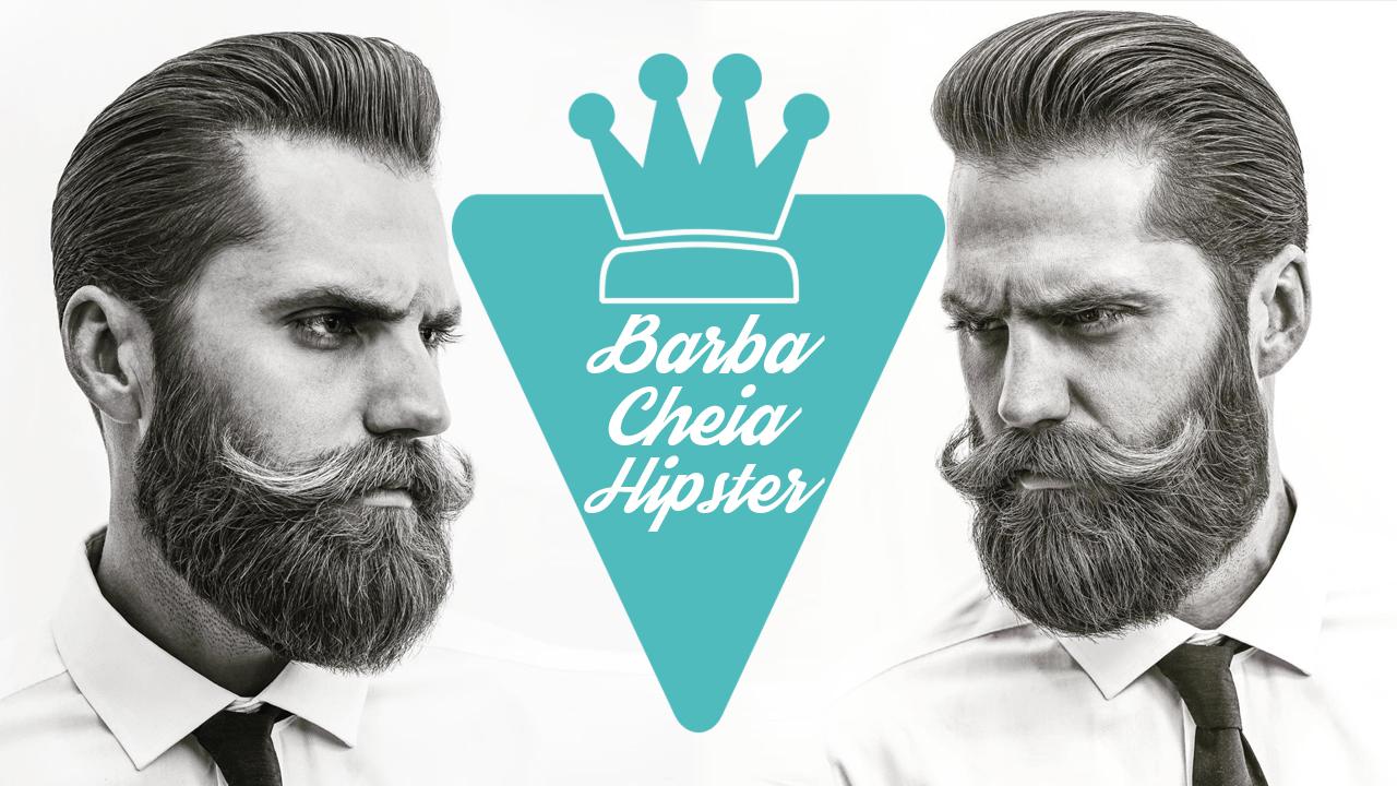 Estilo de Barba Cheia Hipster