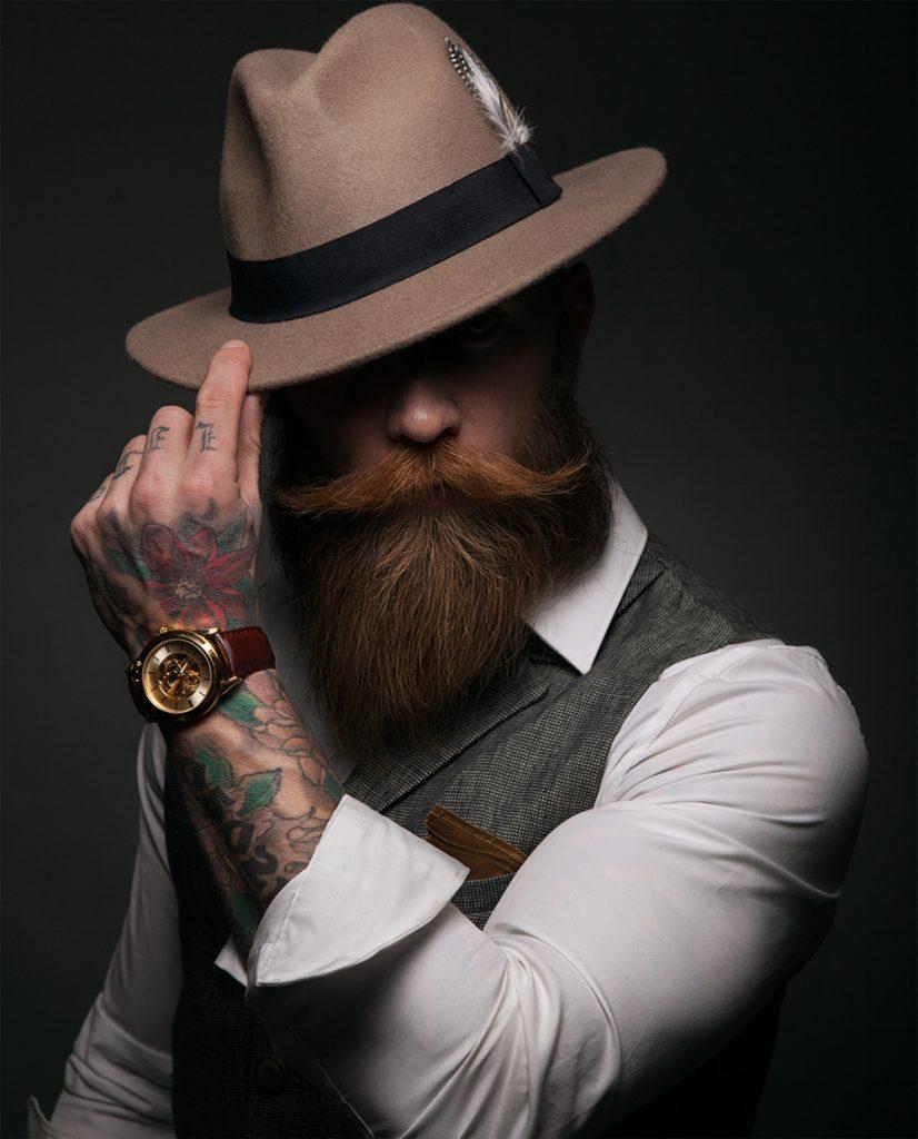 Hipster Full Beard