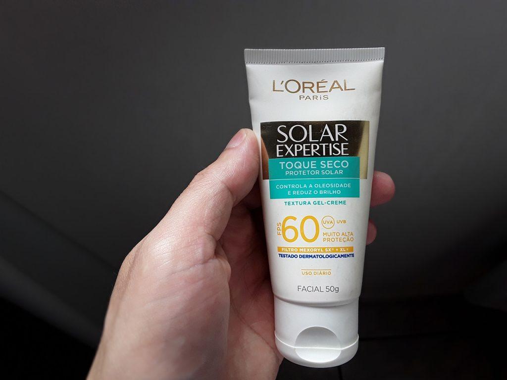 Protetor solar Expertise Toque Seco da L'Oréal