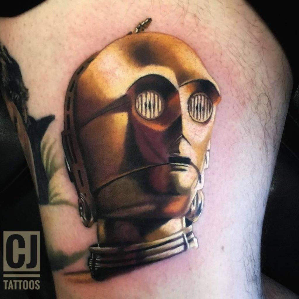 Tatuagem do C-3PO