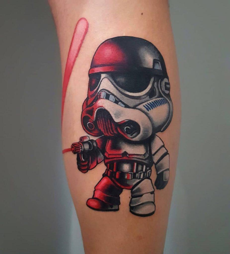 Tatuagem New School Stormtrooper
