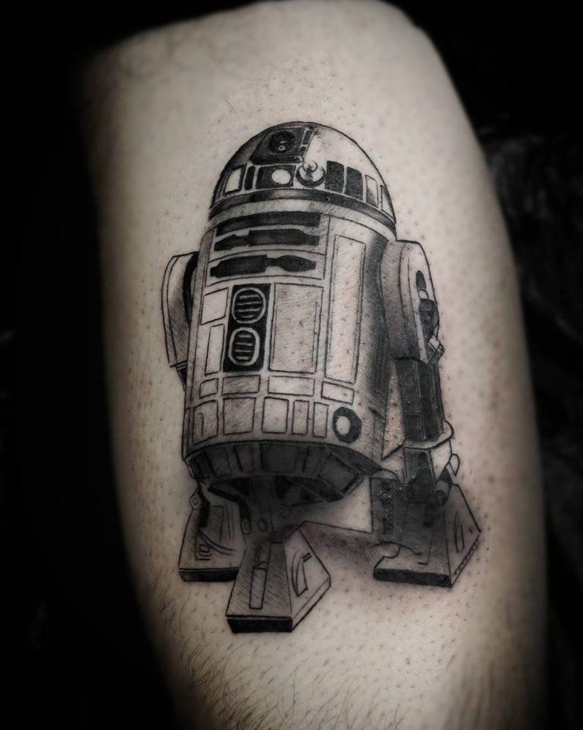 Star Wars: tatuagem do R2-D2