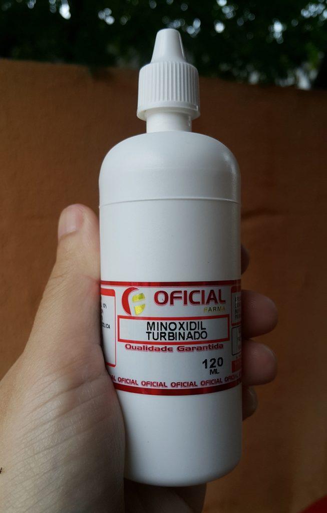 Minoxidil para tratar a alopecia androgenética
