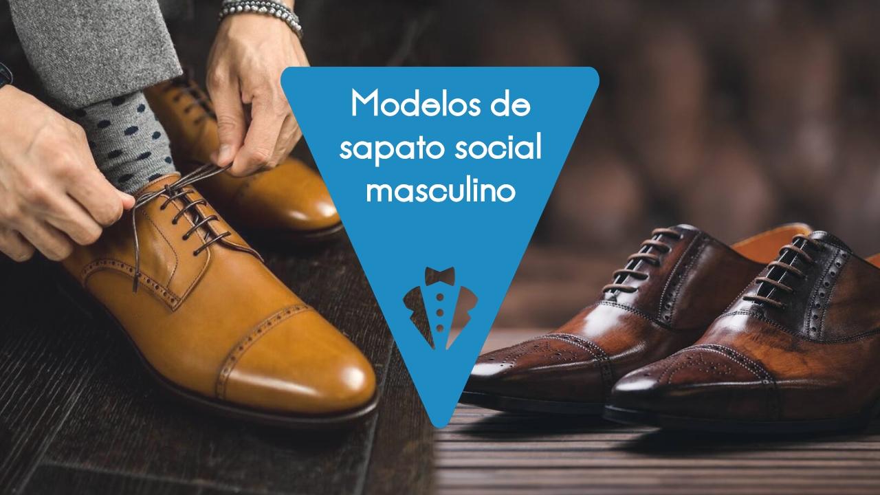 Moda masculina: modelos de sapato social
