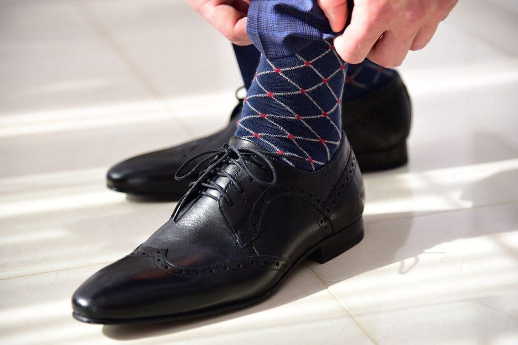 Sapato social masculino Derby