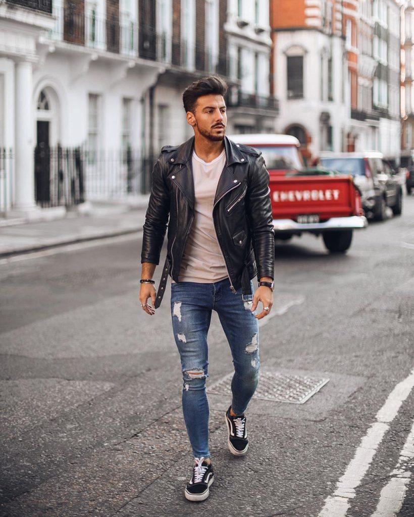 Jaqueta de couro Perfecto: como usar