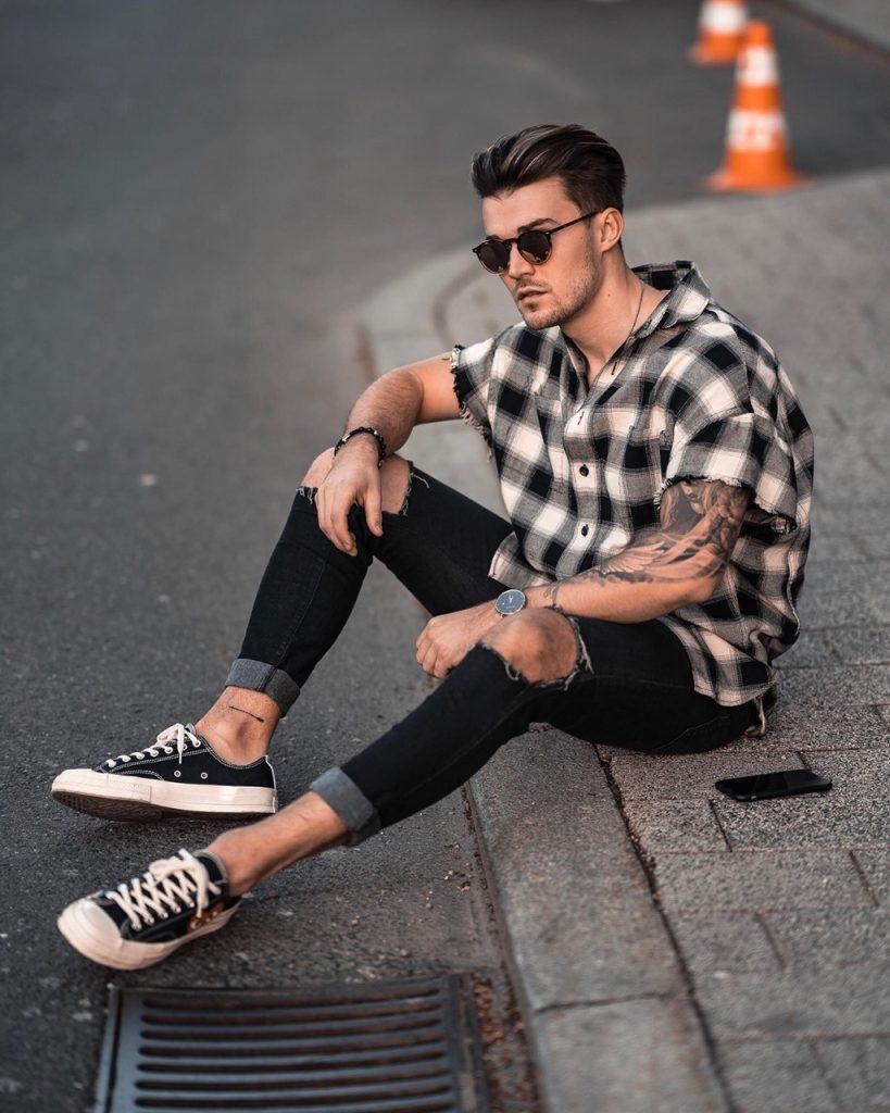 Como usar as camisas estampadas masculinas