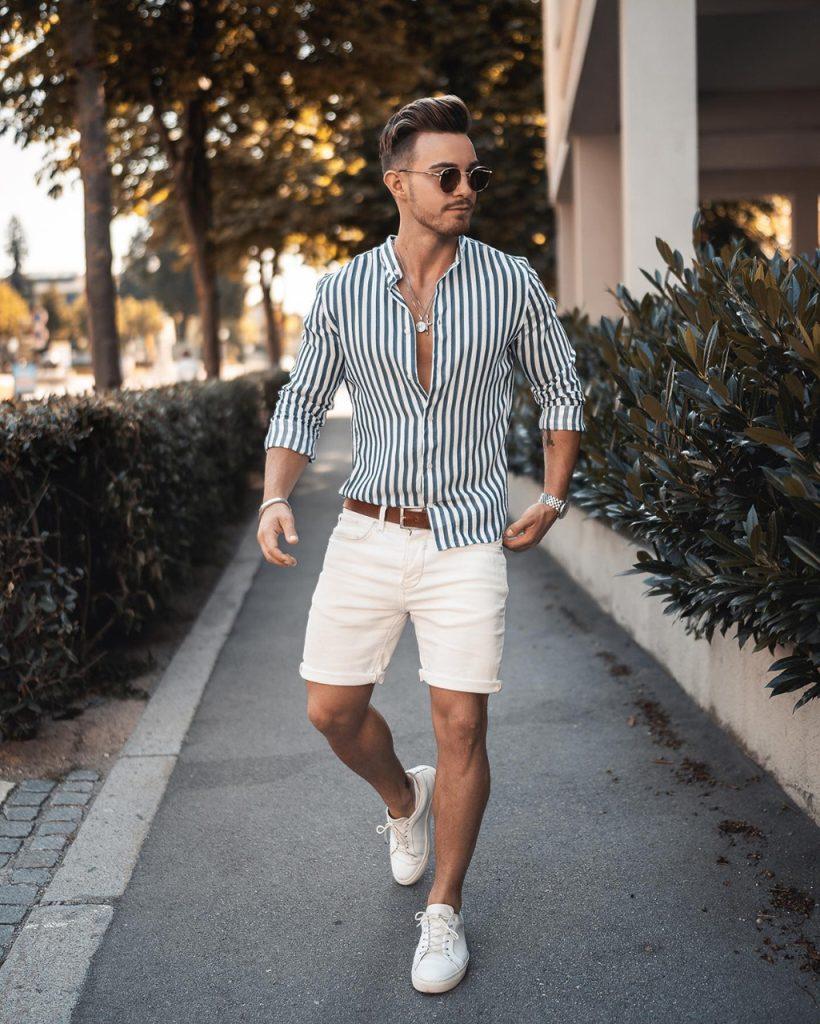 Look casual de verão para homens