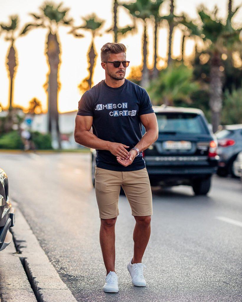 Como usar camiseta homem