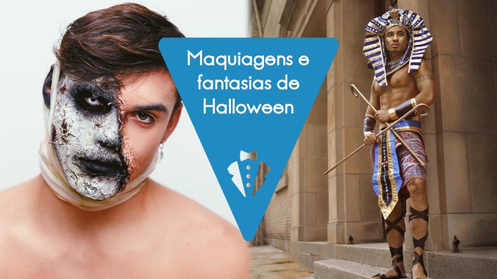 Fantasias e maquiagens de Halloween para homens