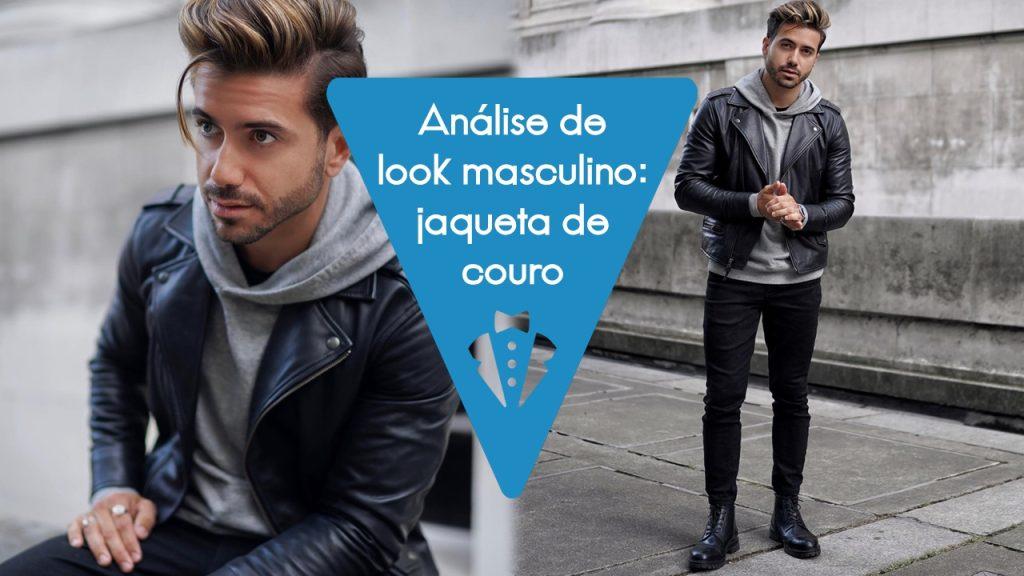 Análise de look masculino 13: jaqueta perfecto