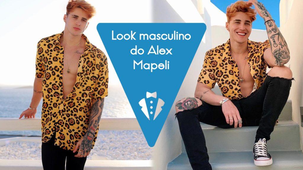 Look masculino do Alex Mapeli