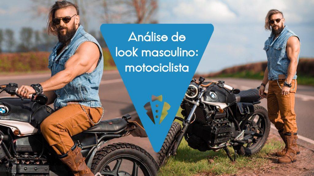 Look masculino estilo motociclista